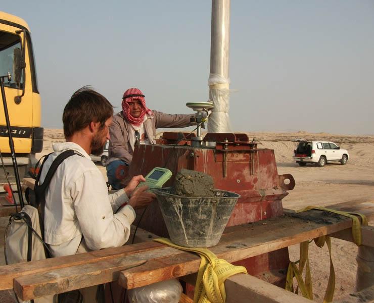 Marquage de la frontière, QATAR / ARABIE SAOUDITE