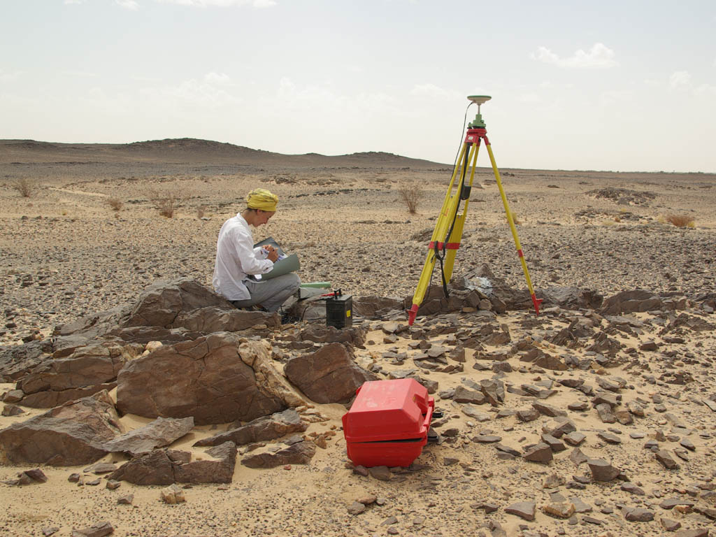 Installation of a geodetic network, SUDAN