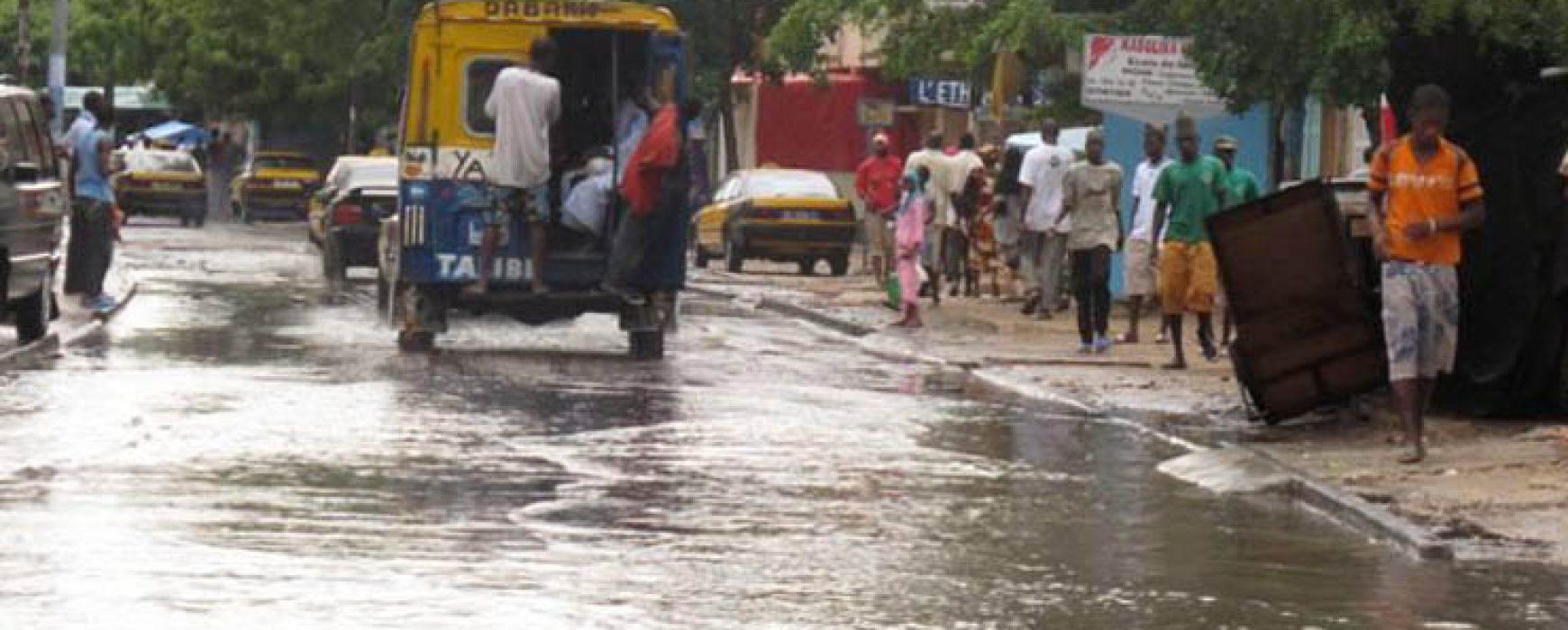 Cartographie des zones inondables, SÉNÉGAL