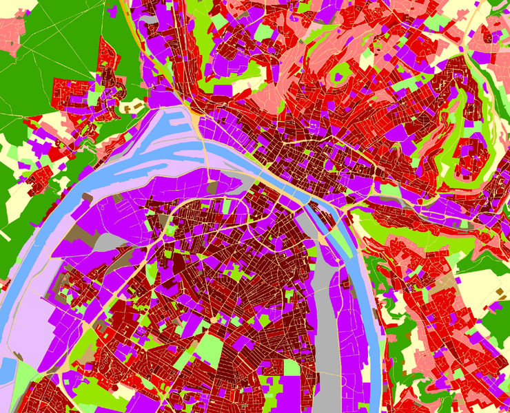 Évaluation qualité Urban Atlas, Europe