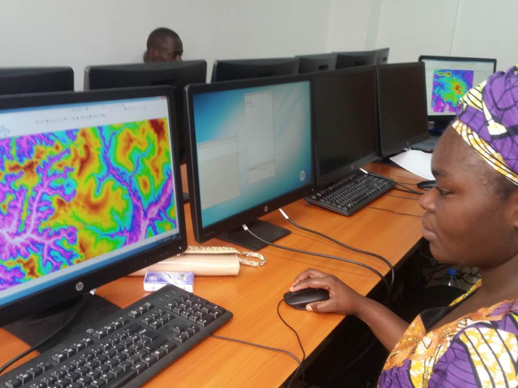 Aide à la délimitation des frontières, CONGO