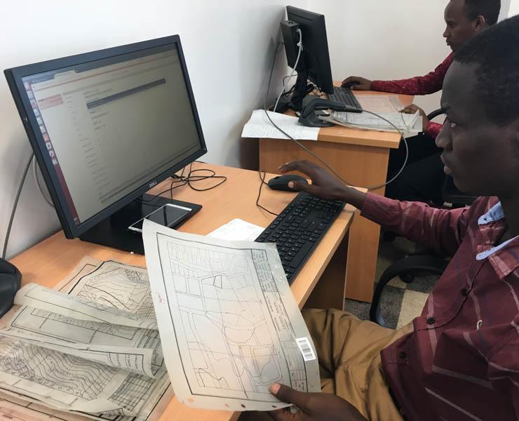 Land information system, TANZANIA