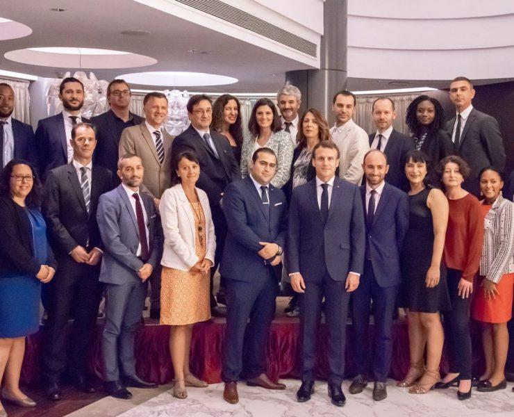 IGN FI aux côtés du Président de la République française lors de son déplacement officiel au Kenya