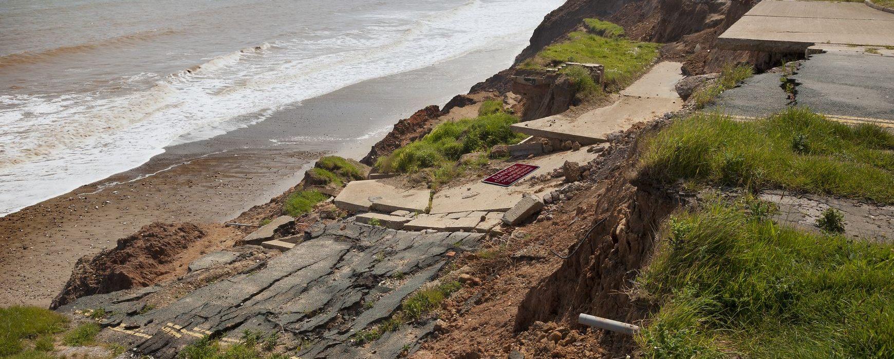 Érosion côtière et mesures d'atténuation