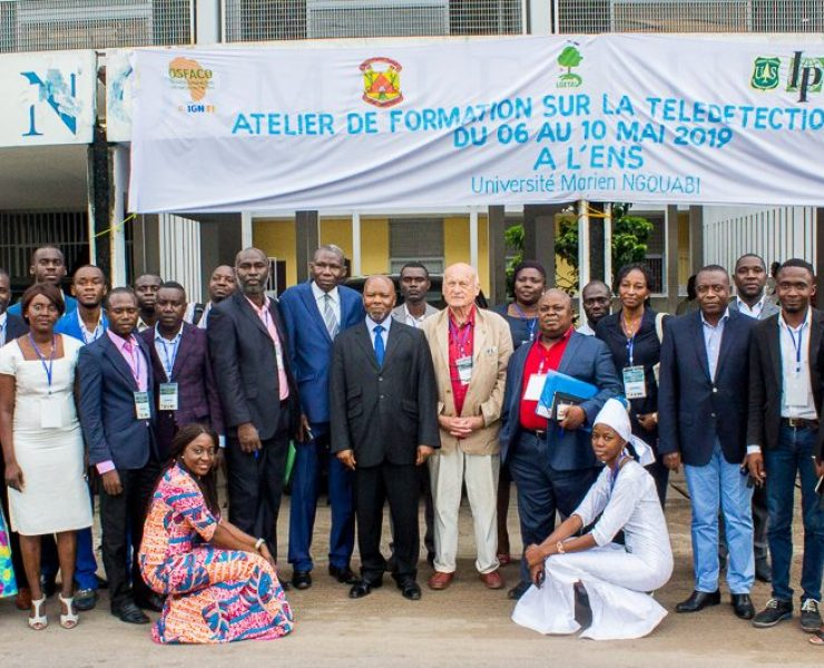 Training workshop on radar remote sensing from 6 to 10 May 2019 in Brazzaville, as part of the OSFACO project
