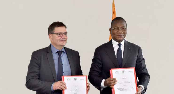 Export financing: IGN FI to digitise Ivory Coast's land administration system thanks to a buyer credit from Bpifrance
