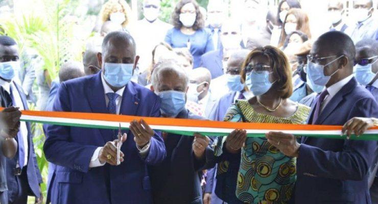 Côte d'Ivoire : Le Premier Ministre inaugure le centre de production du projet SIGFU