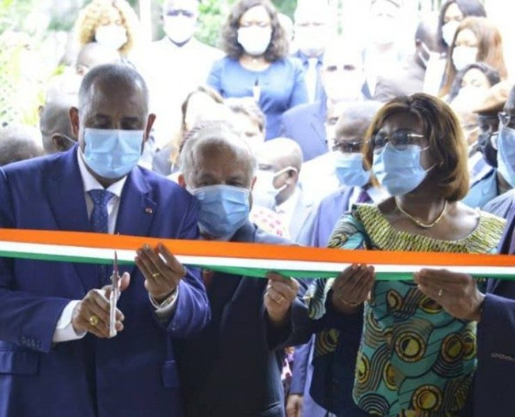 Ivory Coast: the Prime Minister inaugurates the production centre of the SIGFU project